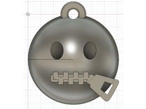 Emoji Zipped Keychain