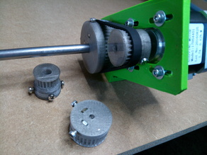 Pulleys for Root 2 CNC