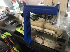 Spool holder for i3 mk3 for 9mm frame