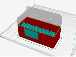 Cover of Meanwell Power Supply for Ender 3 - Open source Solidworks file