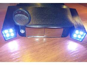 Printable case for headlamp.