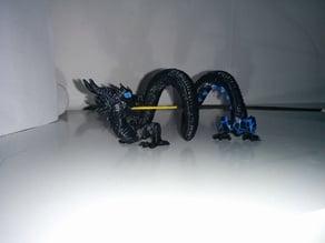 Digital dragon incense holder