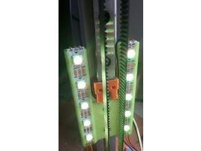 Kossel Mini led strip holder