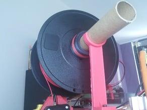 Filament holder for 2020 alu openbeam kossel mini