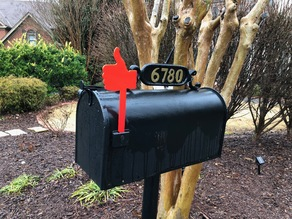 Thumbs Up Mailbox Flag
