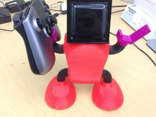 OUYA console robodock with Controller holder hands