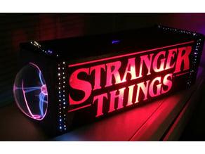 Stranger Things Fiber Optic Lamp