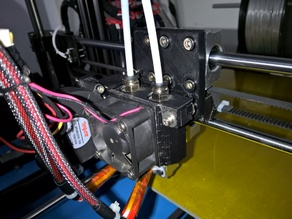 HICTOP HIC Technology Dual E3Dv6 Extruder x-carriage (Marlin Firmware)