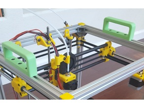 Strong 2020 Extrusion Handles