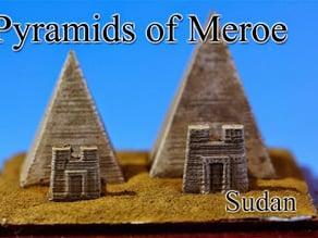Pyramids of Meroe ‐Sudan‐