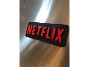 Netflix Logo Magnet