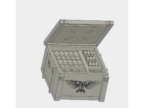 Ammo Box 25x25mm