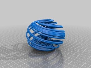 Runge-Kutta OpenSCAD implementation applied to the Aizawa attractor