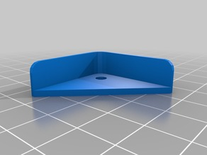 220x220x3mm heat bed plate corner