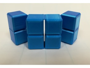 Infinity Cube, Magic Cube, Flexible Cube, Folding Cube, Yoshimoto Cube  for Flexible TPU filament