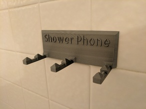 Shower Phone - phone mount for the shower