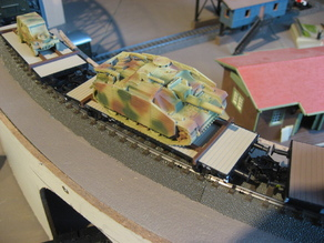 Artitec & Marklin heavy load car tank securing aid H0 scale