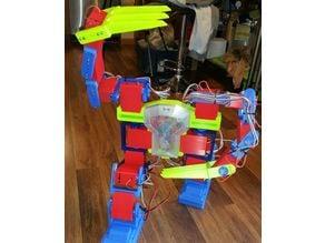 DestoroyahX Robot