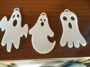 halloween Simple Ghost pack hook