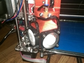 SUNHOKEY Prusa I3 E3D Copy Fan Mount