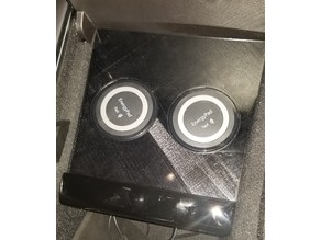 Simple Dual Wireless Qi Charger for Tesla Model 3