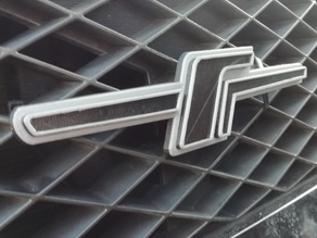 Subaru Forester JDM F Badge