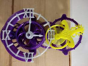 EB Tourbillion Clock