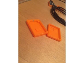 D1 Mini Case with mount hole for DS18B20