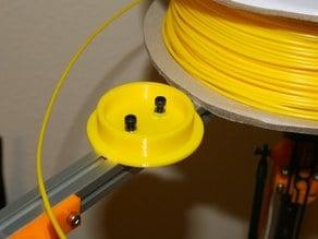 Minimalist horizontal spool mount for Kossel