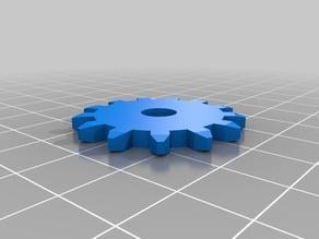 Basic Customizable Gear - true diameter
