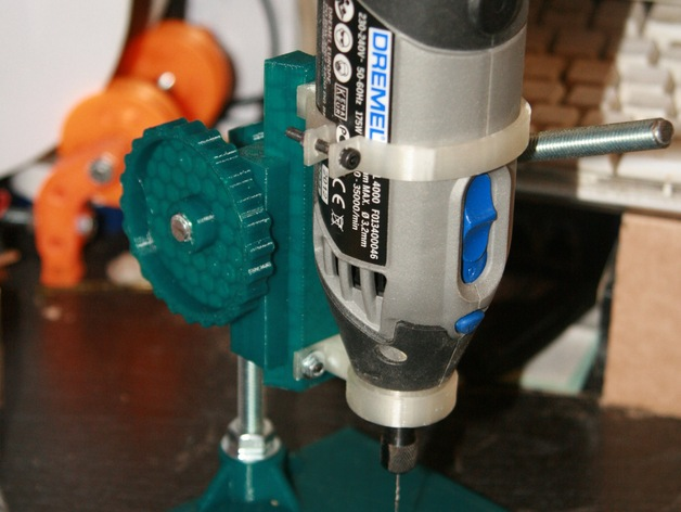 dremel adapter for mini drill press by yopzolo