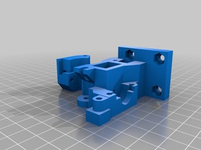 Prusa I3 Rework, or Wilson, Direct drive extruder with Solidworks 2014 source