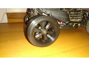 RC Drift Wheel (7mm Hex)