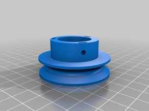 My Customized Round Belt Pulley Creator