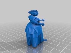 steampunk - female ogre - victorian fashion