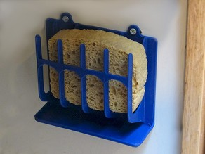 Wall Mount Sponge Holder
