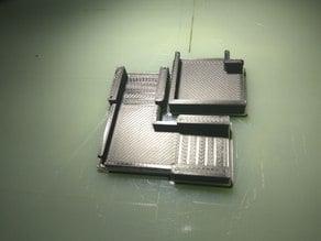 Dr Boo's LED corner holder/clip (90°) for WS2801 strip