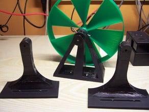 Bubble Machine Wind Wheel Mount