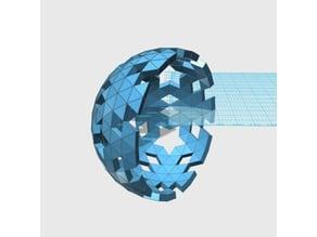 Geodesic 6V Hemisphere Pattern_45_57_58_66