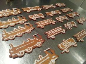 Train Set (Cookie Cutters)