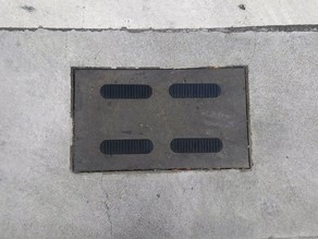 Another plate for manhole cover