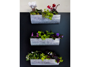 Tiered Wall Hanging Planter