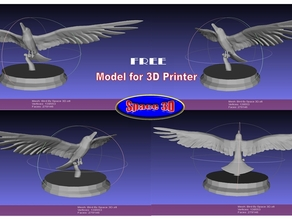 Bird With Pose by Space 3D