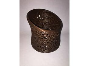 Voronoi Style Pencil Holder