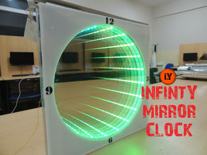 HOW TO MAKE AN INFINITY MIRROR CLOCK