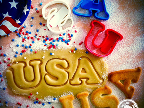 USA Cookie Cutter #2 (4th of July Special Edition)