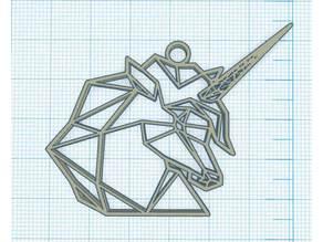 Geometric Unicorn - Licorne Geométrique