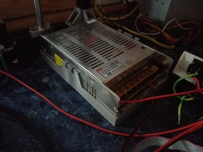 Holder and portbox for large power supply