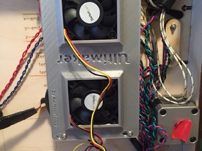 Ultimaker Original+ Electronics cooling