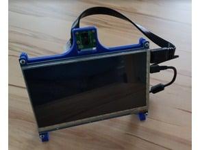 Raspberry-, Display- und Kamerahalter